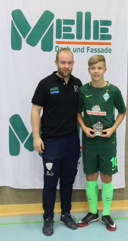 Bester Spieler Keke Topp (Werder Bremen)