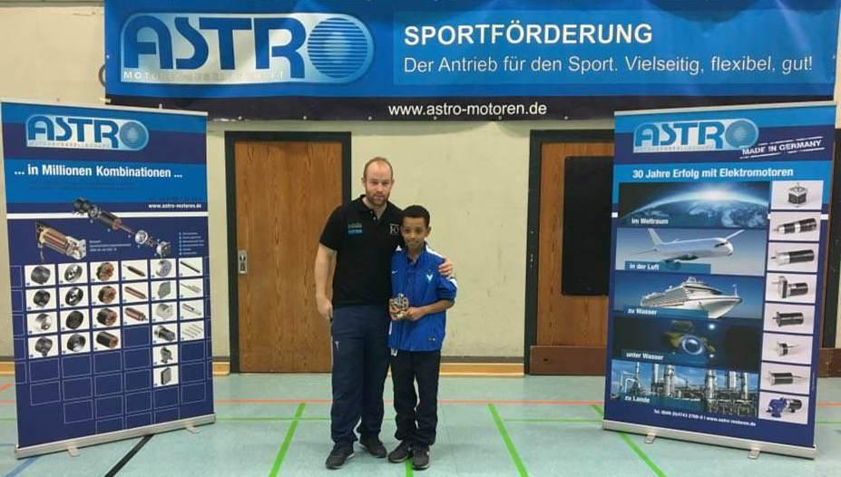 Bester Spieler Liol Brook (Viktoria Berlin)