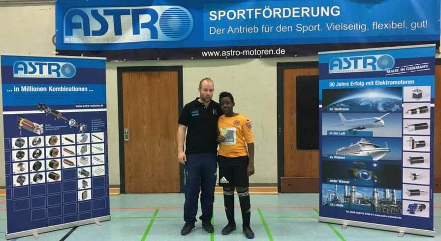 Bester Torwart Shaikh Derman (Tennis Borussia Berlin)