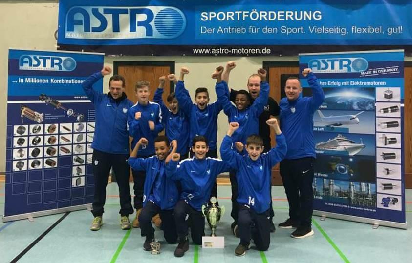 Astro-Cup-Sieger 2017: Viktoria Berlin