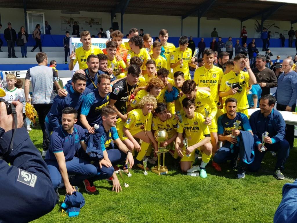 FC Villareal Sieger 2018 U15-Junioren