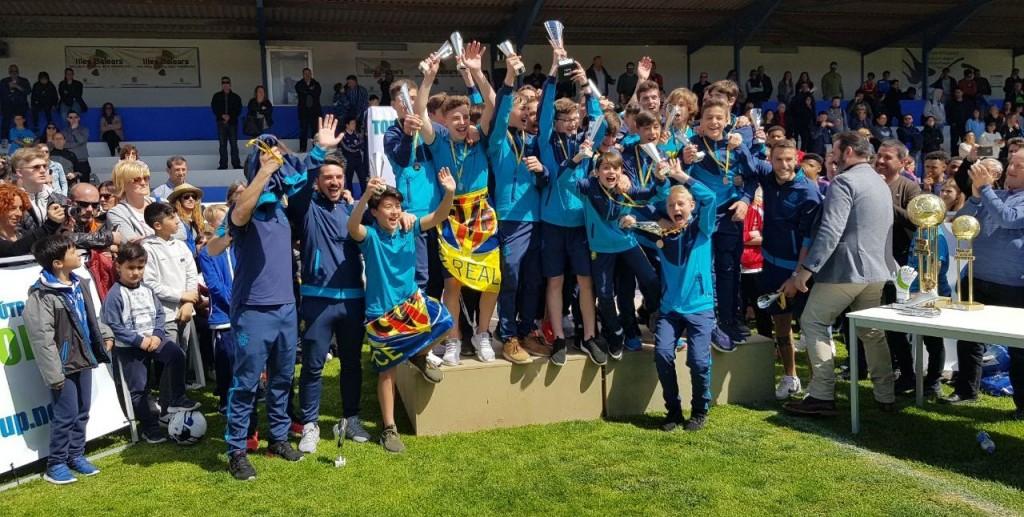 FC Villareal Sieger U13-Junioren