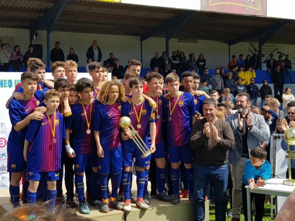 FC Barcelona, Zweiter U15-Junioren