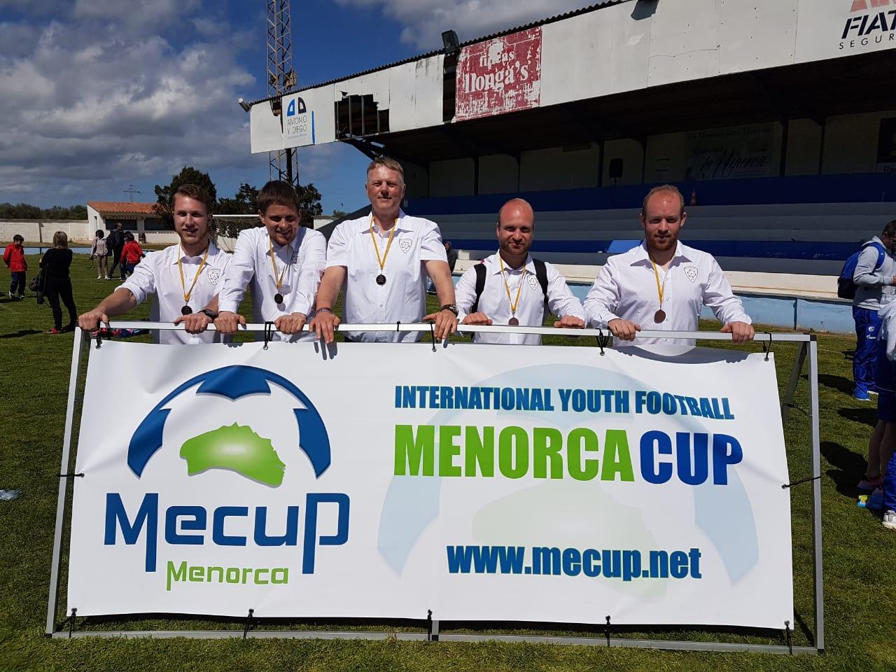 Das Trainerteam aus 2017 beim MeCuP