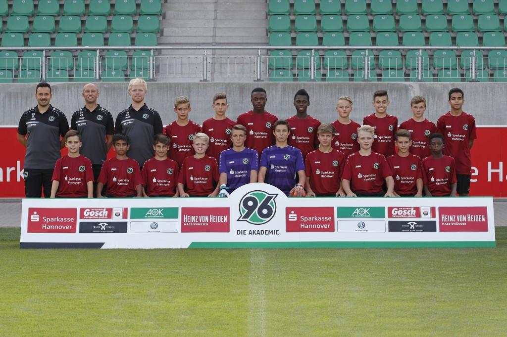 23.08.2018, Hannover Hannover 96 - Akademie - Team - Mannschaft U14 Foto: Lars Kaletta