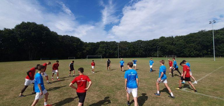 Trainingslager der U16 – Tag 2