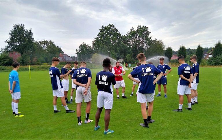 Impressionen aus dem U17 Trainingslager in Aschendorf