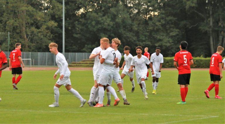 JFV U19 – SC Borgfeld 1:1 (0:0)